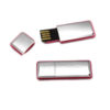 chicklet usb flash drive red open