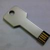key usb flash drive - silver