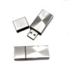 Metal Block USB Flash Drive one open one closed
