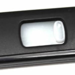 slider usb flash drive black closed